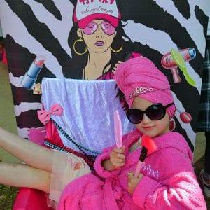 ספא בלאלילנד - עמדת צילומי מגנטים ענקיים ומעוצבים לכל הבנות תוצרת לאלילנד