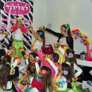 הוואי בלאלילנד - טקס ברכות מרגש למלכת היומולדת