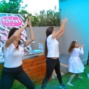 פרוזן בלאלילנד - מסיבת ריקודים מטריפה וסוחפת, מותאמת לגיל הבנות