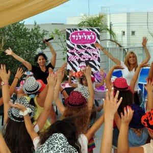 יום הולדת דוגמניות בלאלילנד - מסיבת ריקודים מטריפה וסוחפת, מותאמת לגיל הבנות