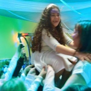 ספא בלאלילנד - טקס ברכות מרגש למלכת היומולדת