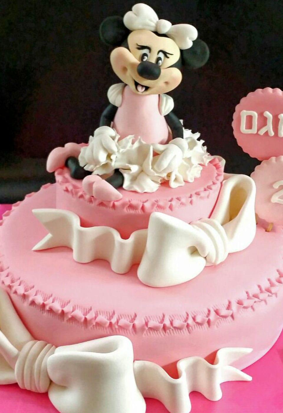 עוגת יום הולדת אגם בת 2