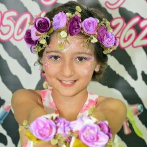 יום הולדת ילדת הפרחים בלאלילנד - עמדת צילומי מגנטים ענקיים ומעוצבים לכל הבנות תוצרת לאלילנד