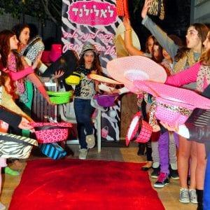 יום הולדת דוגמניות בלאלילנד - תצוגת אופנה