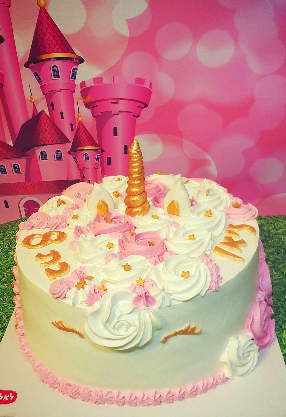 עוגת יום הולדת ליאן בת 8