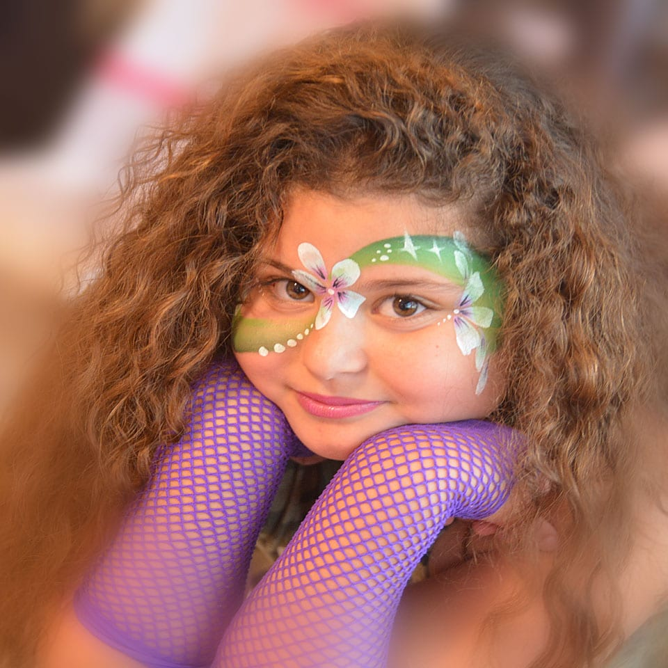 איפור יום הולדת זומבה - לאלילנד