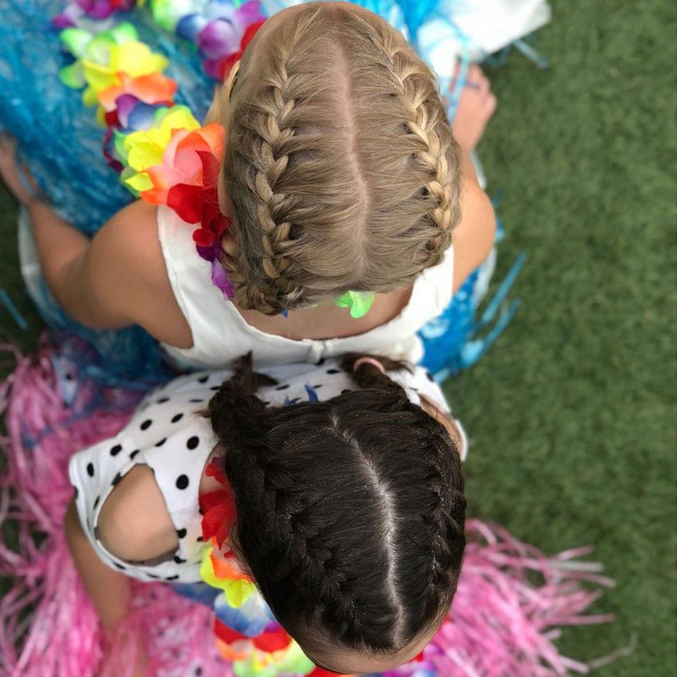 יום הולדת הוואי לאלילנד תסרוקות שיער למלכת היום הולדת
