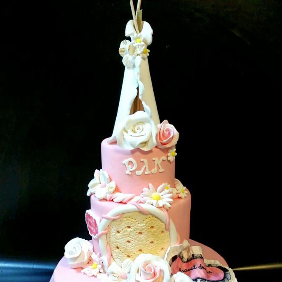 מסיבת פיגמות אוהלים לאלילנד - טקס עוגה
