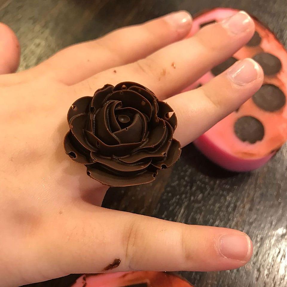 יום הולדת עיצוב בשוקולד