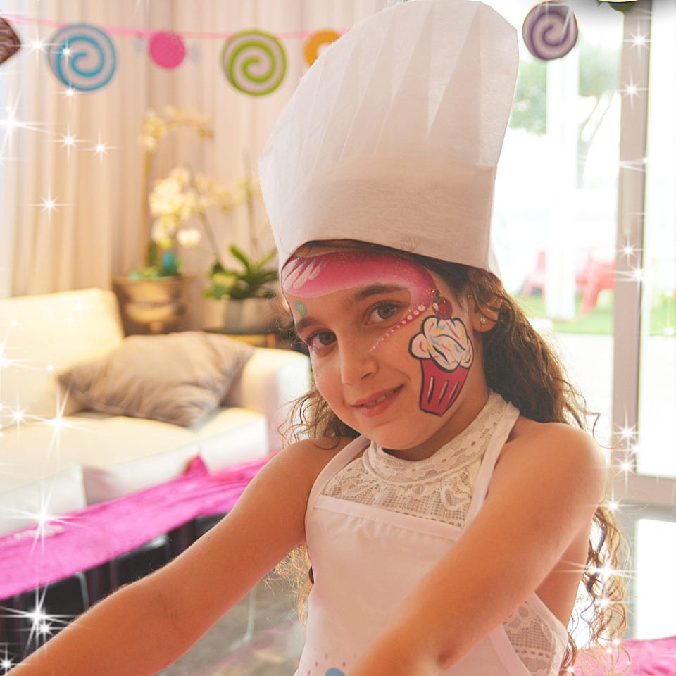 יום הולדת עיצוב בשוקולד לאלילנד סשן צילומים