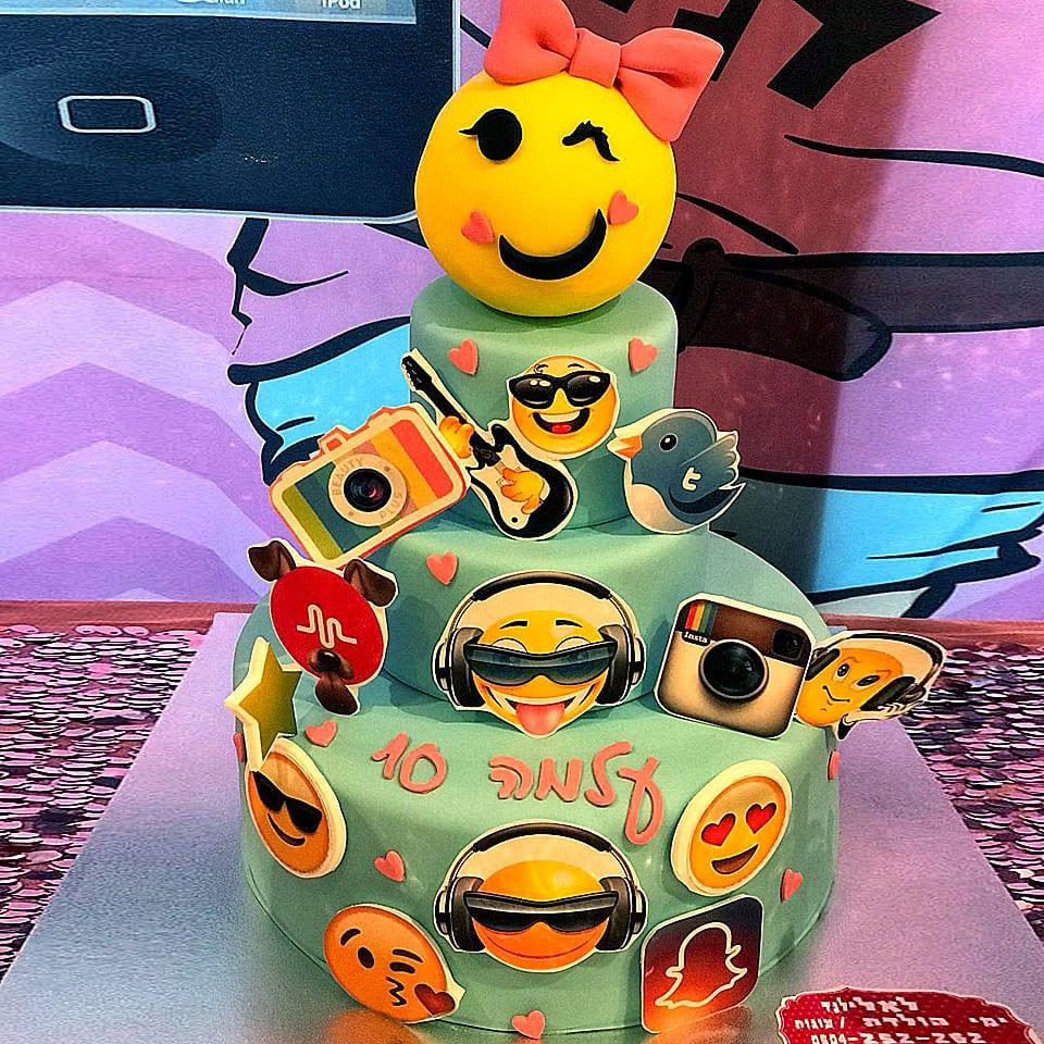 יום הולדת אפליקציות לאלילנד טקס עוגה