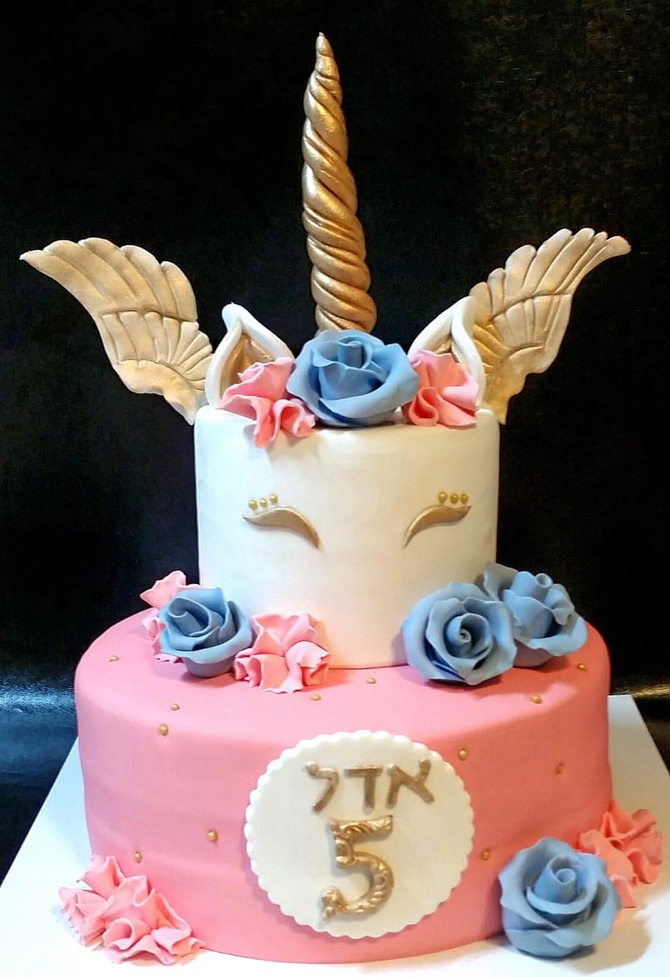 עוגת יום הולדת אדל לאלילנד
