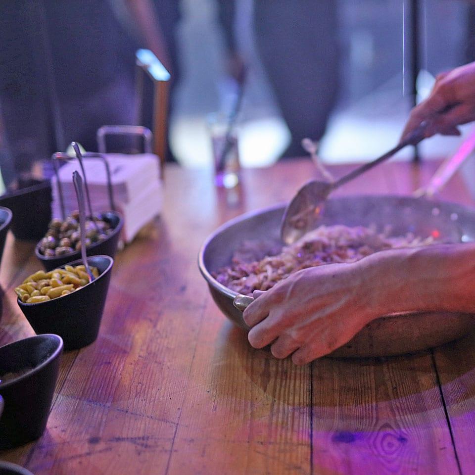 דוכני מזון אירועים יוקרתיים בת מצווה לאלילנד