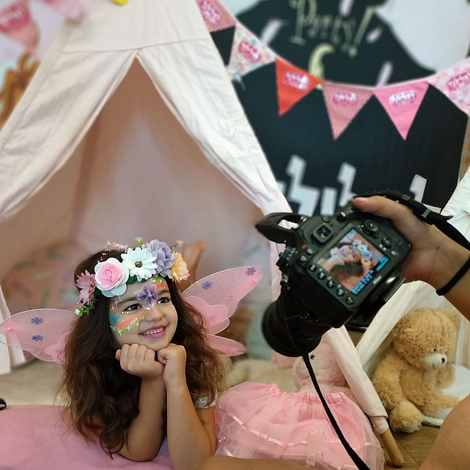 יום הולדת אוהלים פיות צילום לאלילנד
