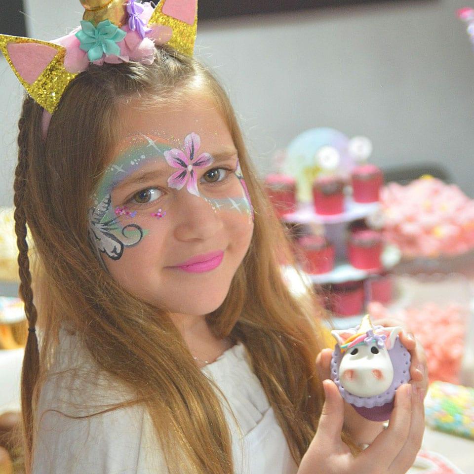 יום הולדת עיצוב בצק סוכר לאלילנד מגנטים
