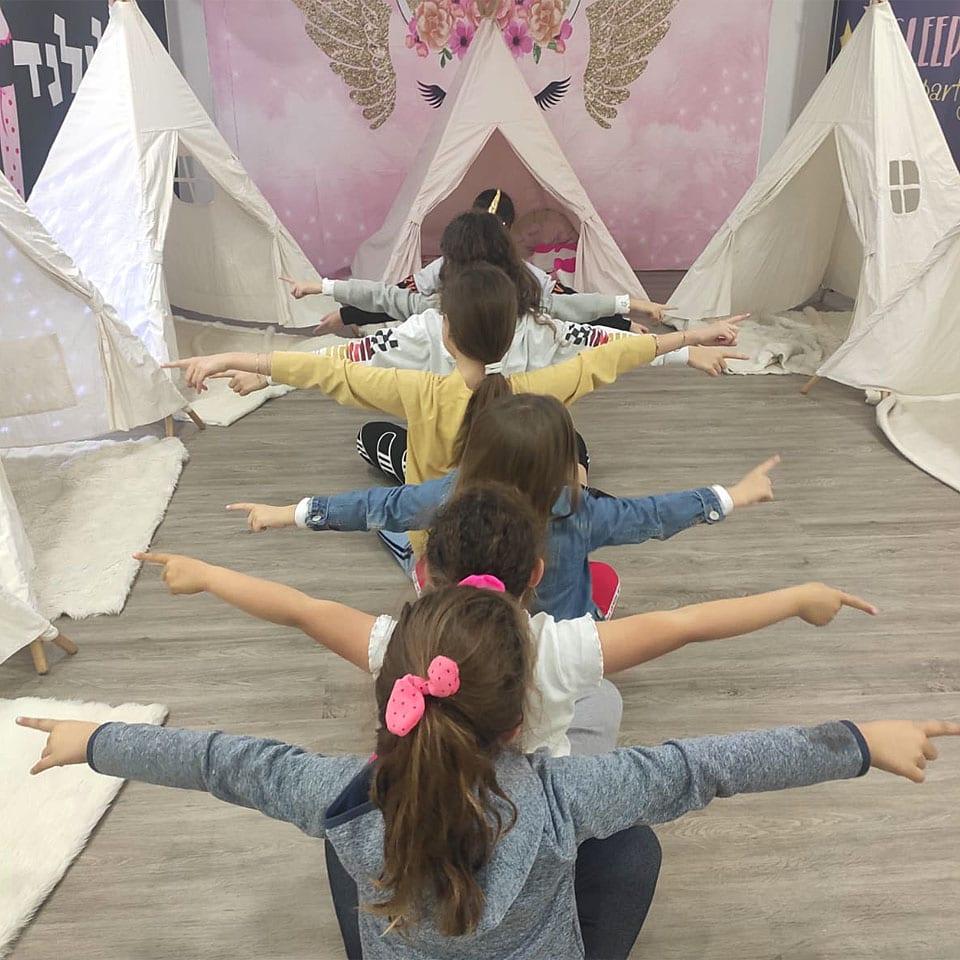 חד קרן אוהלים fun fun fun לאלילנד