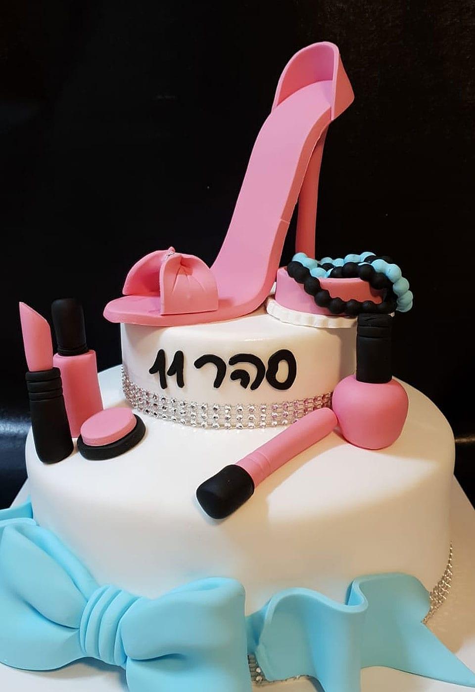 עוגת יום הולדת ספא סהר