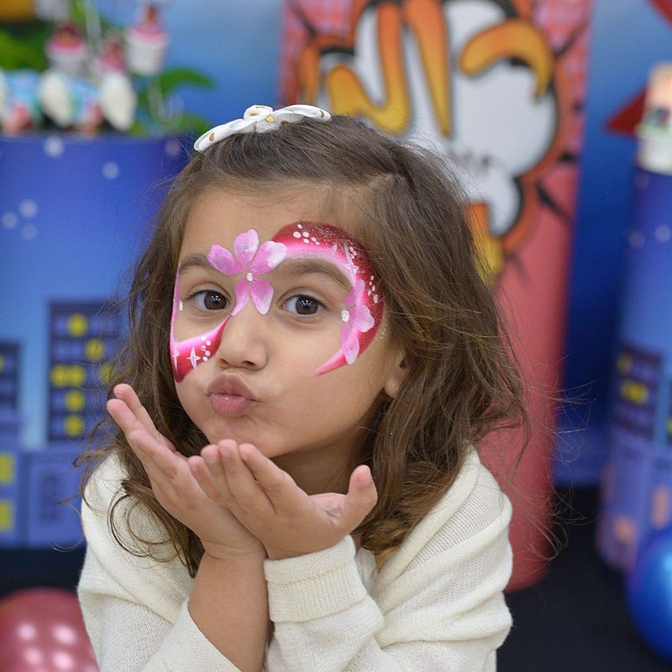 הפעלת יום הולדת כוח פיג׳יי PJ Masks איפור