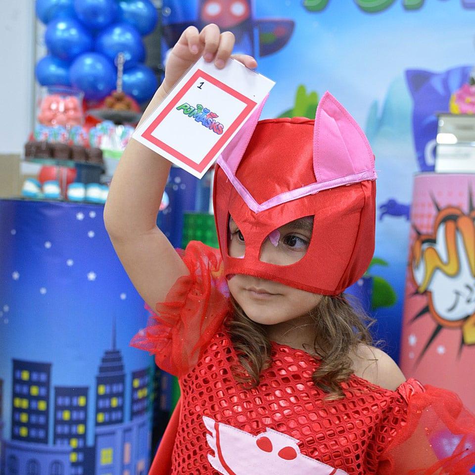 הפעלת יום הולדת כוח פיג׳יי PJ Masks פעילויות כיפיות
