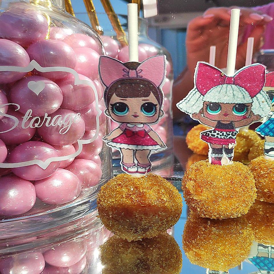 כדורי סוכר שולחנות מעוצבים לול LOL