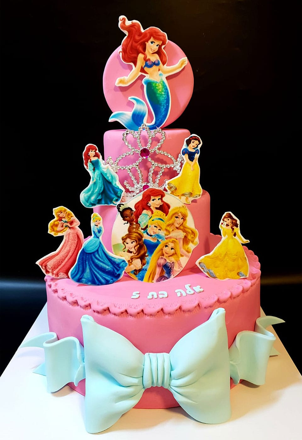 עוגת בצק סוכר בת הים