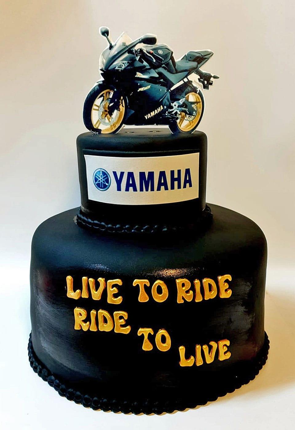 עוגת יום הולדת אופנוען לאלילנד