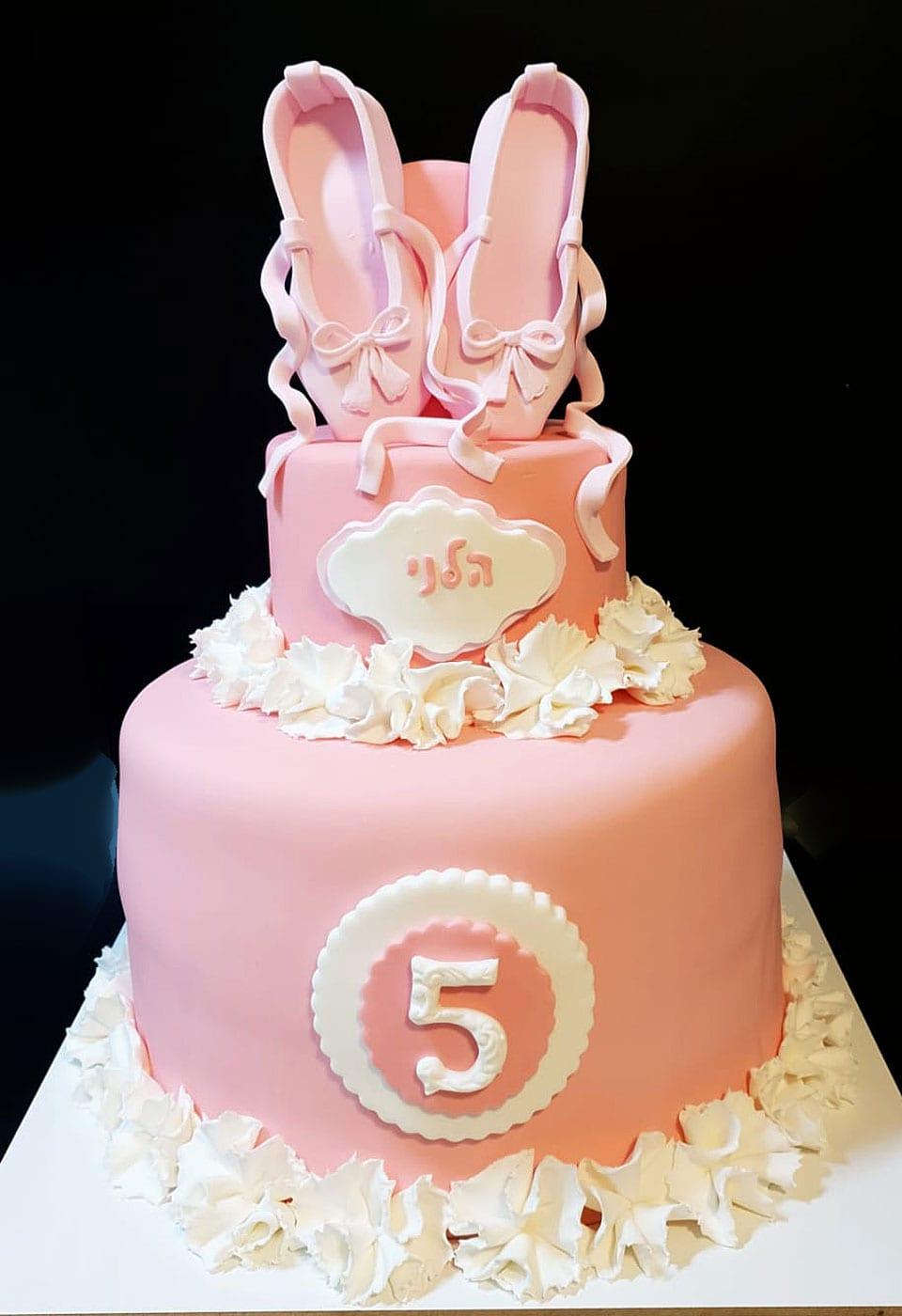 עוגת יום הולדת בלרינה ספא