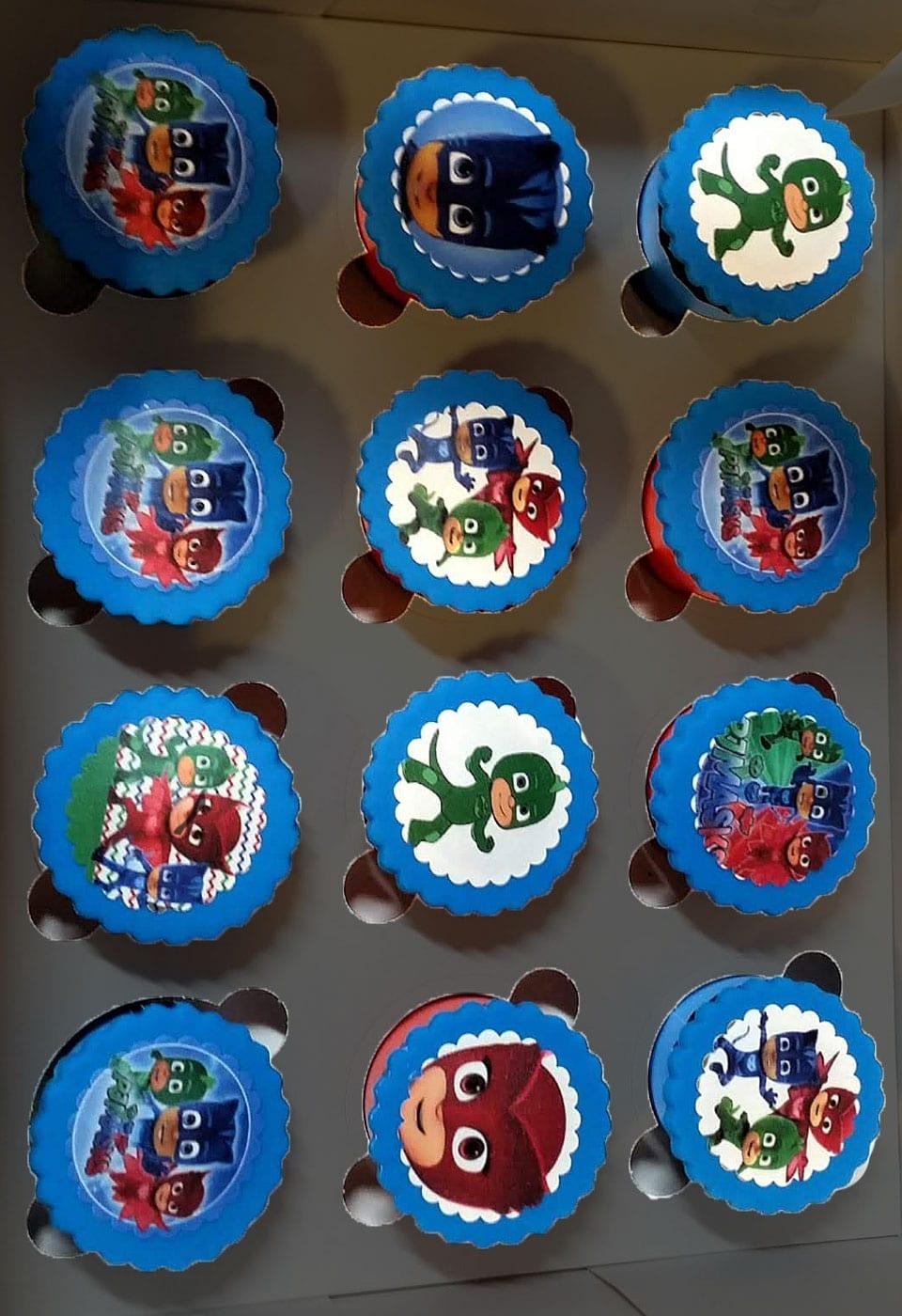 קאפקייקס כוח פיג׳יי PJ Masks