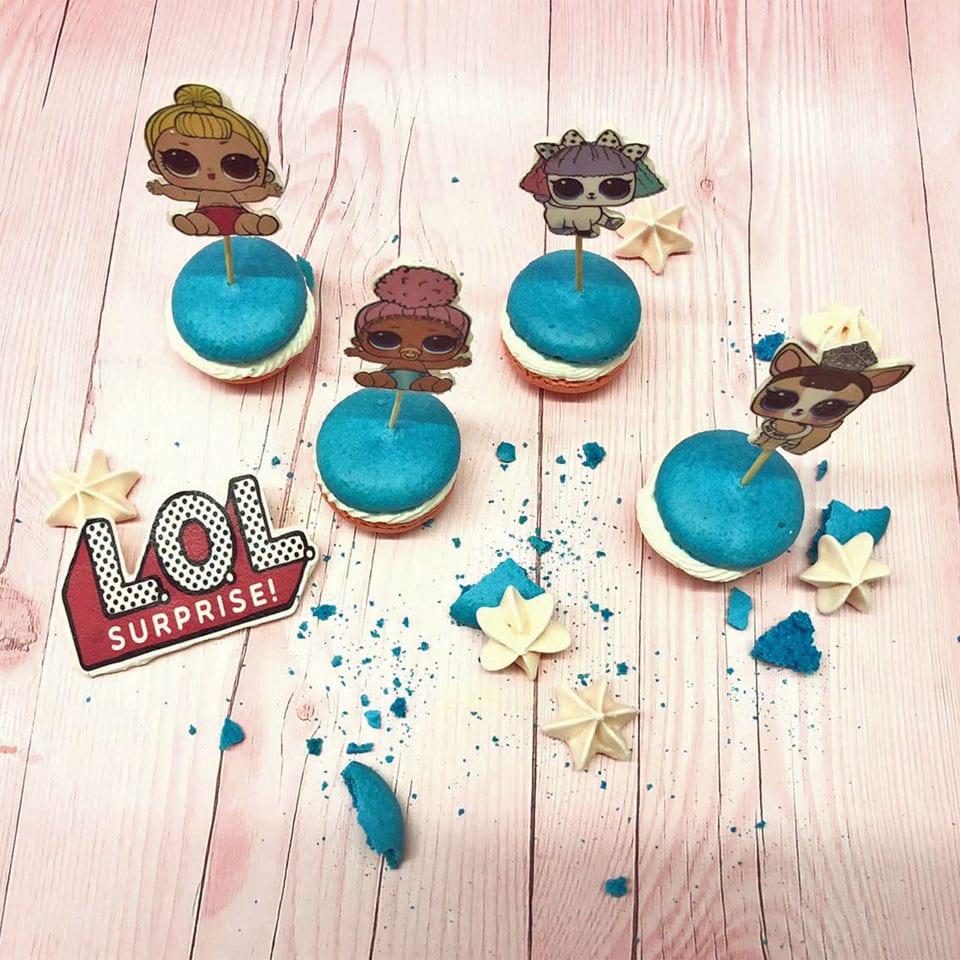 עוגיות מעוצבות LOL