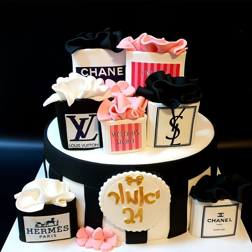 עוגת יום הולדת מותגים לאלילנד