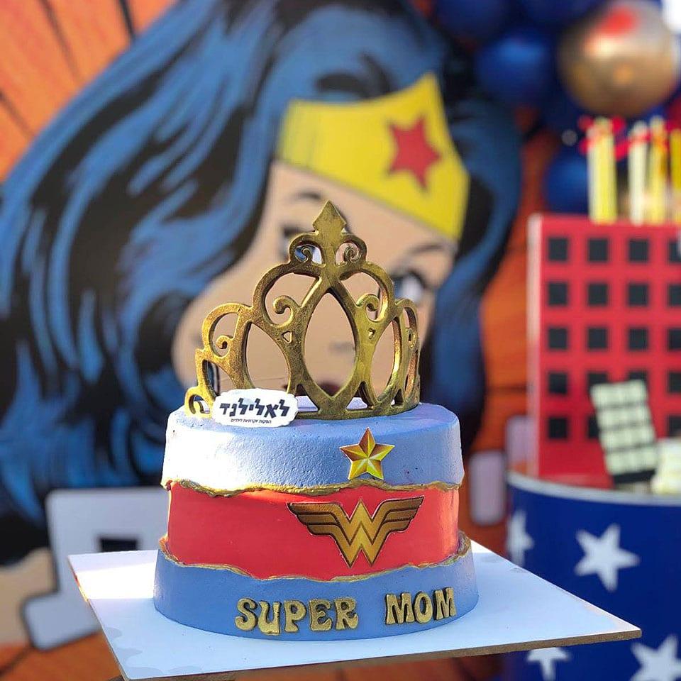 הפעלת יום הולדת כוח פיג׳יי PJ Masks טקס עוגה לאלילנד
