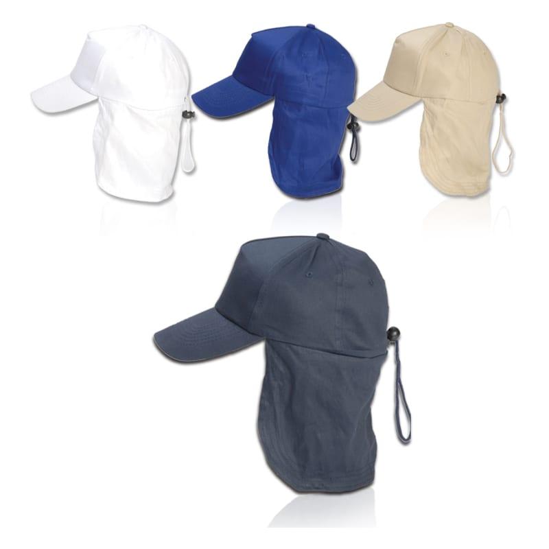 ליגיונר - כובע מגן עורף 100% כותנה / (עם שרוך אחורי)