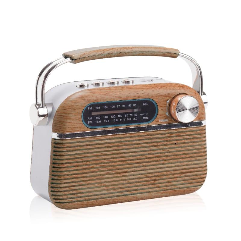 רדיו רטרו עץ