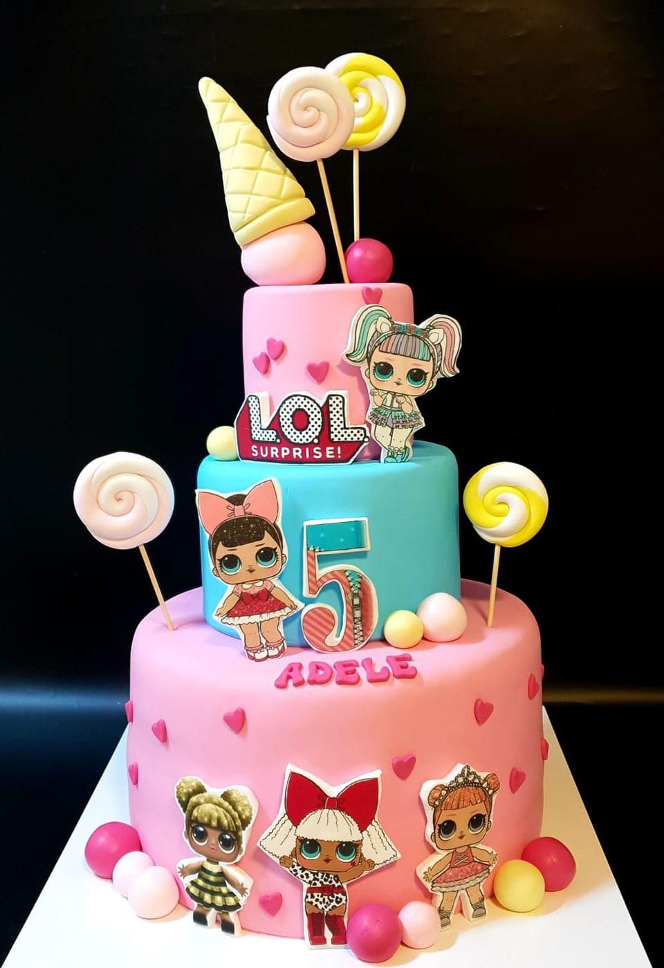 עוגת יום הולדת לול
