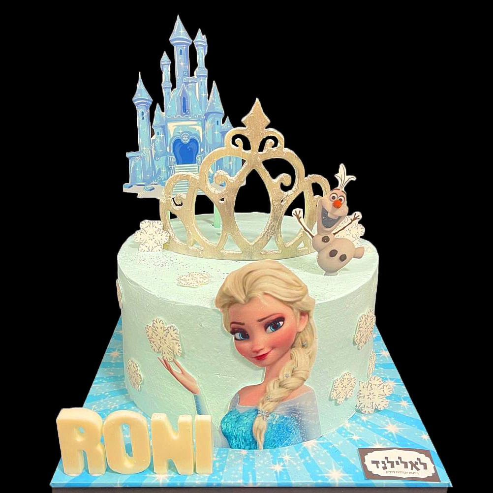 עוגת אלזה כתר וארמון
